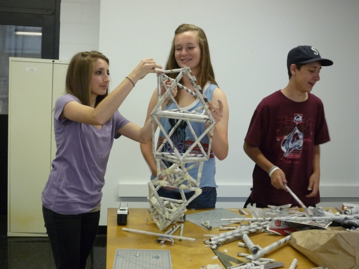 Triangulated Structure Exercise | Brittany, Grace, and Peter
